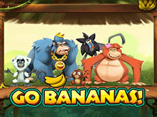 Бесплатный слот-автомат Вперед Бананы